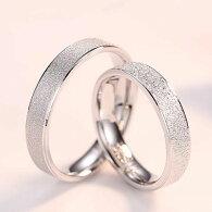 ペアリング純銀925リングセットシルバー誕生日プレゼント男性/女性マリッジリング結婚指輪ペア記念日新商品プレゼントシルバー