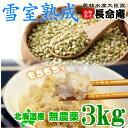 そばの実 国産 3kg 北海道産 北海道 蕎麦の実 食物繊維 むき実 そばのみ 【メール便 送料無料 】
