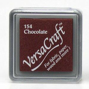 ツキネコ バーサクラフト【S】チョコレート VKS154 (布用スタンプ)