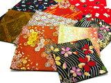 【金襴のハンドメイド和小物】金襴和柄コースター呉服屋おばあちゃんの手作り和小物