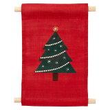 ミニタペストリークリスマスツリー