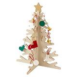 もみの木でつくったクリスマスツリー大