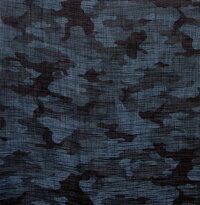 [薄くて透け感のある風呂敷]ポリエステルのふろしきカモフラージュ70cm風呂敷専門店・唐草屋
