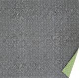 [お弁当箱包み]綿の風呂敷 両面染のふろしき 鮫小紋・麻型(色:黒|グリーン) 50cm 風呂敷専門店・唐草屋