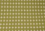 【ネーム加工不可】綿の風呂敷 刺し子のふろしき 十字刺子105cm 風呂敷専門店・唐草屋