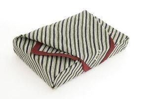 綿江戸千代紙の老舗いせ辰の風呂敷縞50cm|唐草屋