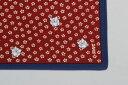 [在庫限りで販売終了]綿の風呂敷江戸千代紙の老舗いせ辰のふろしきうさぎ 90cm風呂敷専門店・唐草屋