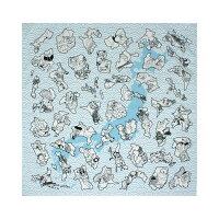 綿の風呂敷|ご当地ふろしき50cm|風呂敷専門店・唐草屋