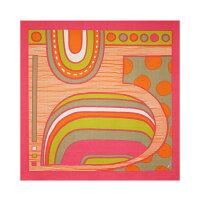 綿の風呂敷|kaaroシリーズ「satama(サタマ)」(ピンク)90cm|唐草屋