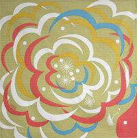 綿の風呂敷(ふろしき)|カンバラクニエ|かもがわ(はらはら)50cm|風呂敷専門店・唐草屋