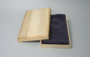 風呂敷の箱桐箱小21.5×14.5×2.5|唐草屋