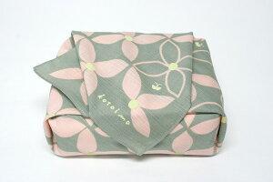 綿の風呂敷|コトイマ|ハナミズキ|50cm|唐草屋