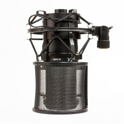 GRANPROショックマウント&ポップガードセットノイズ防止48-52mm
