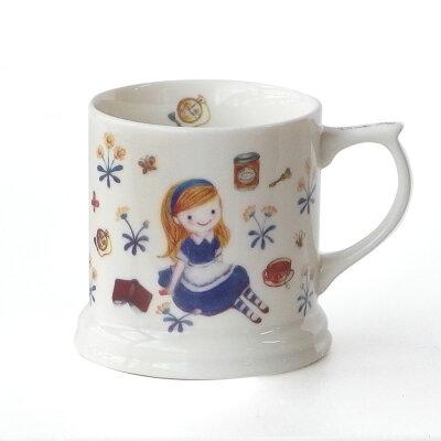 アリスの茶こし付きマグ