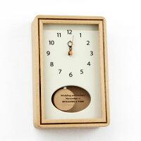 小さなかわいい名入れ振り子時計