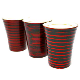 Shochu [lacquer ware series: 3 species from microwave correspondence Cup / Cup / porcelain fetal lacquerware and pottery lacquer / sale / %OFF// wooden kitchen /fs3gm