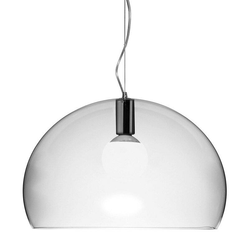 【Kartell カルテル 日本正規】 ペンダントランプ フライ シンプル インテリア 9032 クリスタル FL/Y イタリア デザイナーズ 照明 フェルーチョ・ラヴィアーニ アクリル樹脂の写真