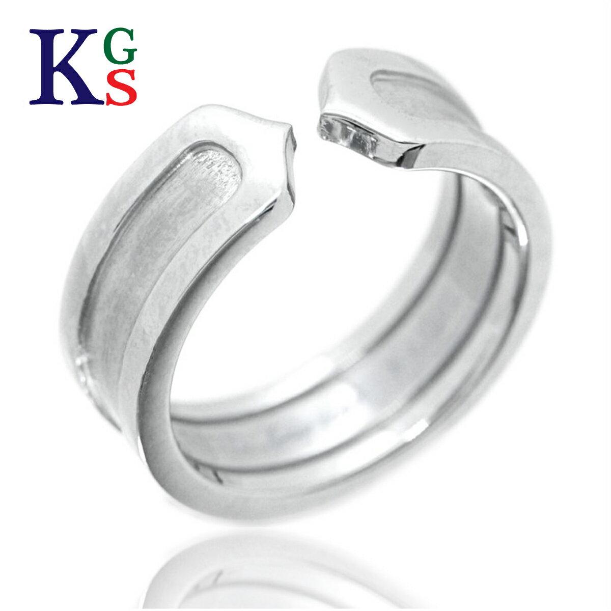 レディースジュエリー・アクセサリー, 指輪・リング Cartier 2C K18WG B4040500