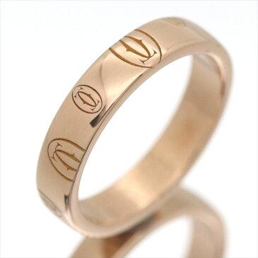 【新古品】カルティエ/Cartier / アクセサリー リング 指輪 レディース ピンクゴールド / ハッピーバースデー ロゴリング K18PG / ジュエリー Happybirthday カルチェ B4051100