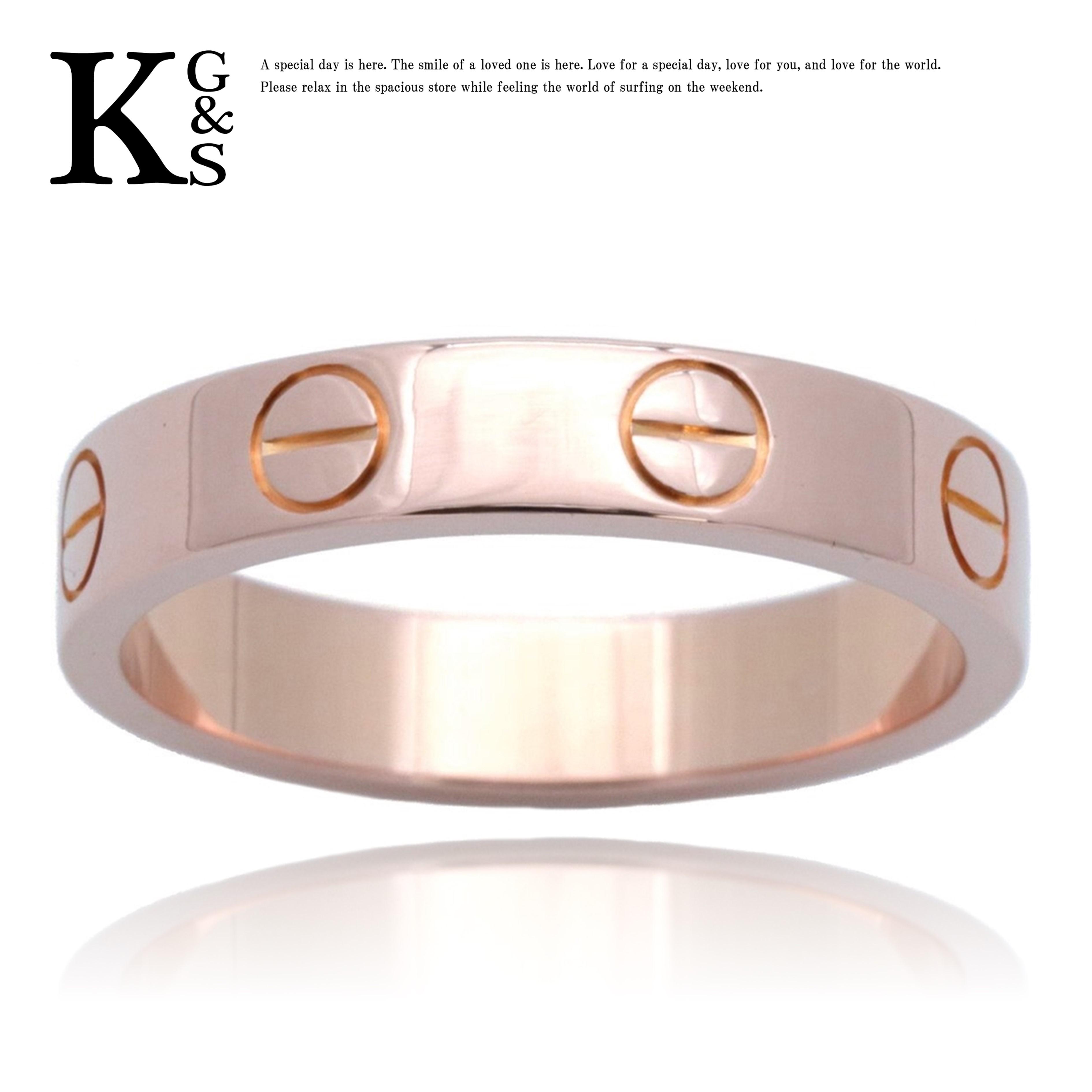 男女兼用アクセサリー, 指輪・リング 4-23Cartier K18PG B4085200 1227
