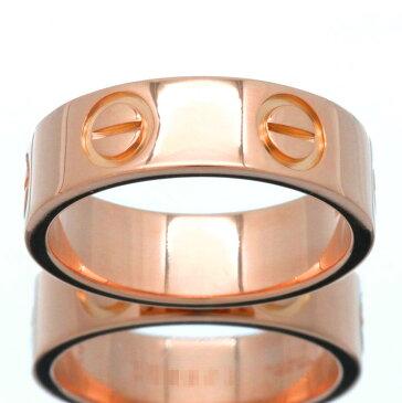 【新古品】カルティエ/Cartier / アクセサリー リング 指輪 レディース / ラブリング love ピンクゴールド K18 750 PG / 4号 5号 6号 7号 8号 9号 10号 11号 12号 13号 14号 B4084800