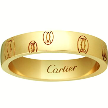 【新古品】【4号-23号】カルティエ/Cartier / ジュエリー リング 指輪 レディース イエローゴールド / ハッピーバースデー ロゴリング K18YG / アクセサリー Happybirthday カルチェ