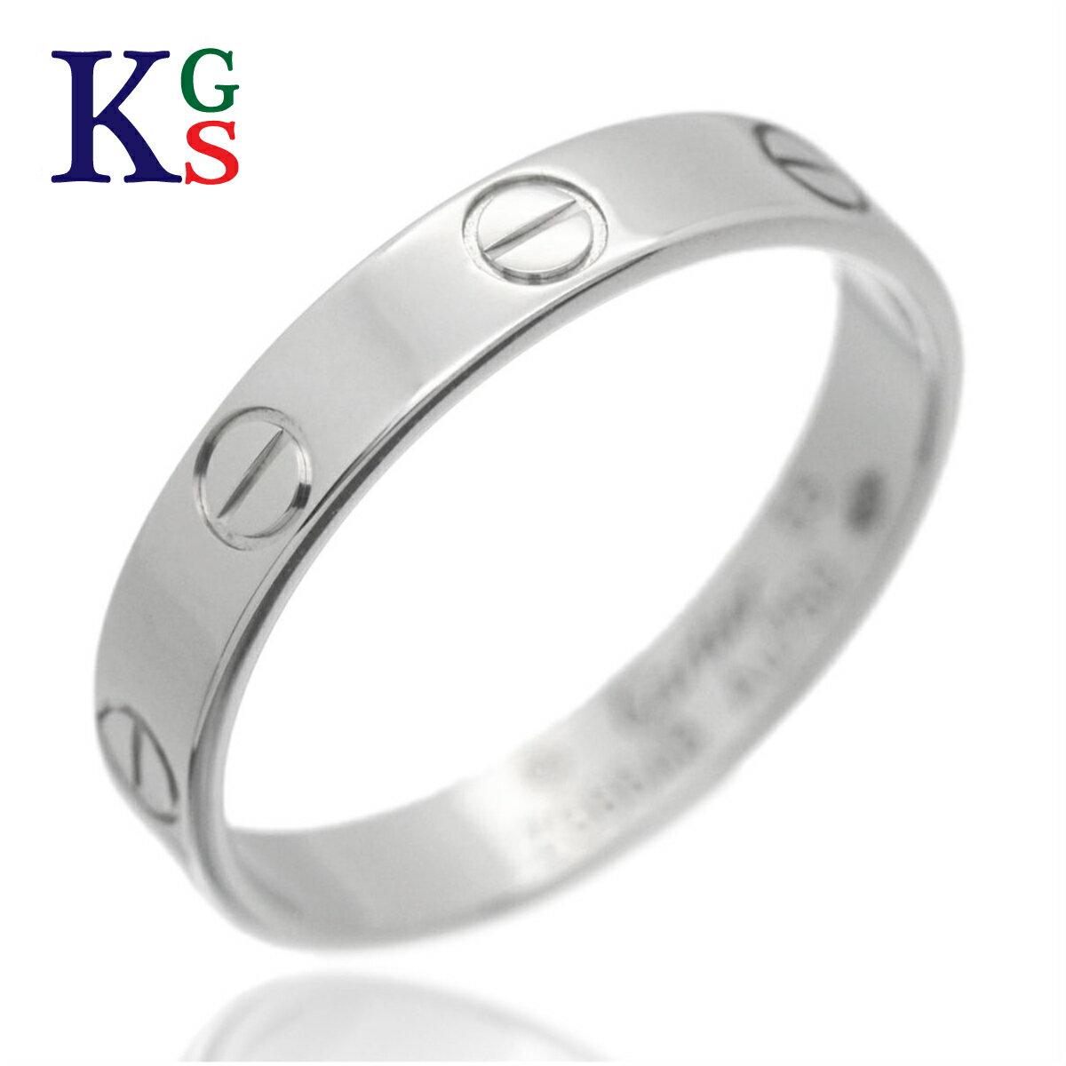 男女兼用アクセサリー, 指輪・リング 4-23Cartier K18WG B4085100