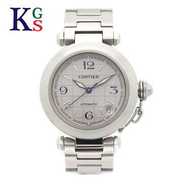 【新古品】カルティエ/Cartier レディース 腕時計 パシャC シルバー× シルバー文字盤 ステンレススチール W31023M7