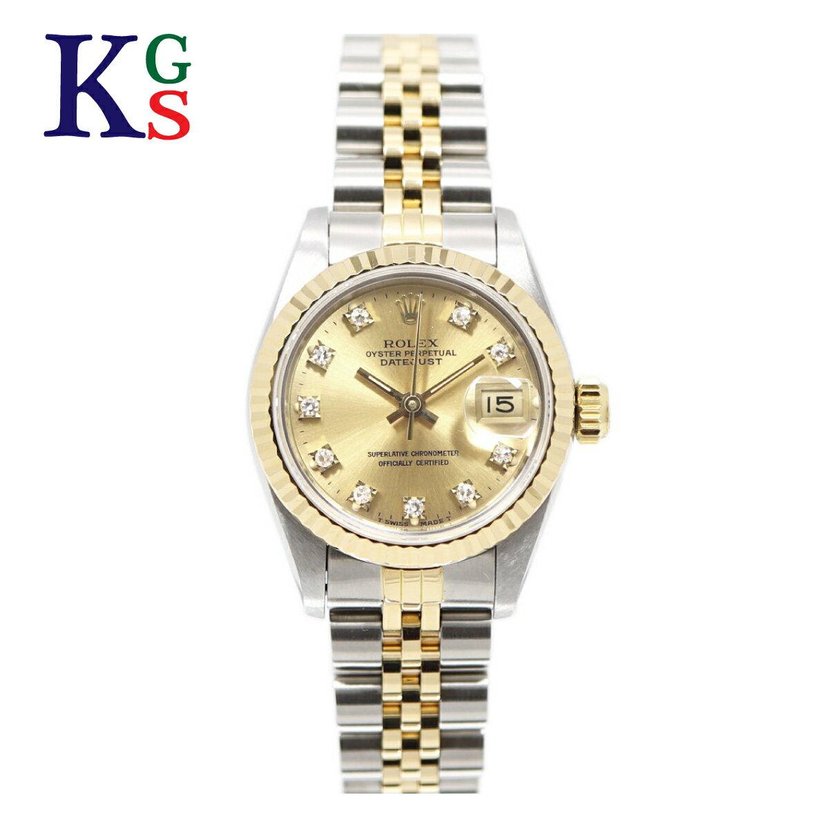 腕時計, レディース腕時計 ROLEX x 10P() xK18YG 69173G 1015