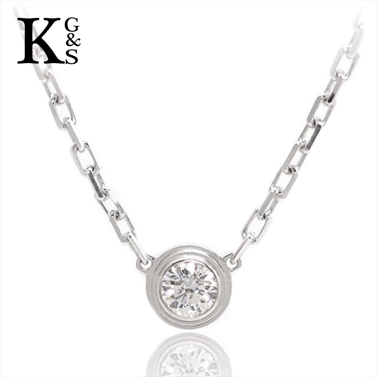 レディースジュエリー・アクセサリー, ネックレス・ペンダント Cartier SM K18WG 1P B7215900