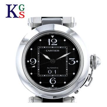 【ギフト品質】カルティエ/Cartier レディース メンズ 腕時計 パシャC ビッグデイト ブラック文字盤 自動巻き W31053M7