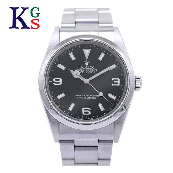 ギフト品質  SPECIAL梱包 ロレックス/ROLEXメンズ腕時計エクスプローラー1ブラック文字盤ダブルロックバックルクロマ