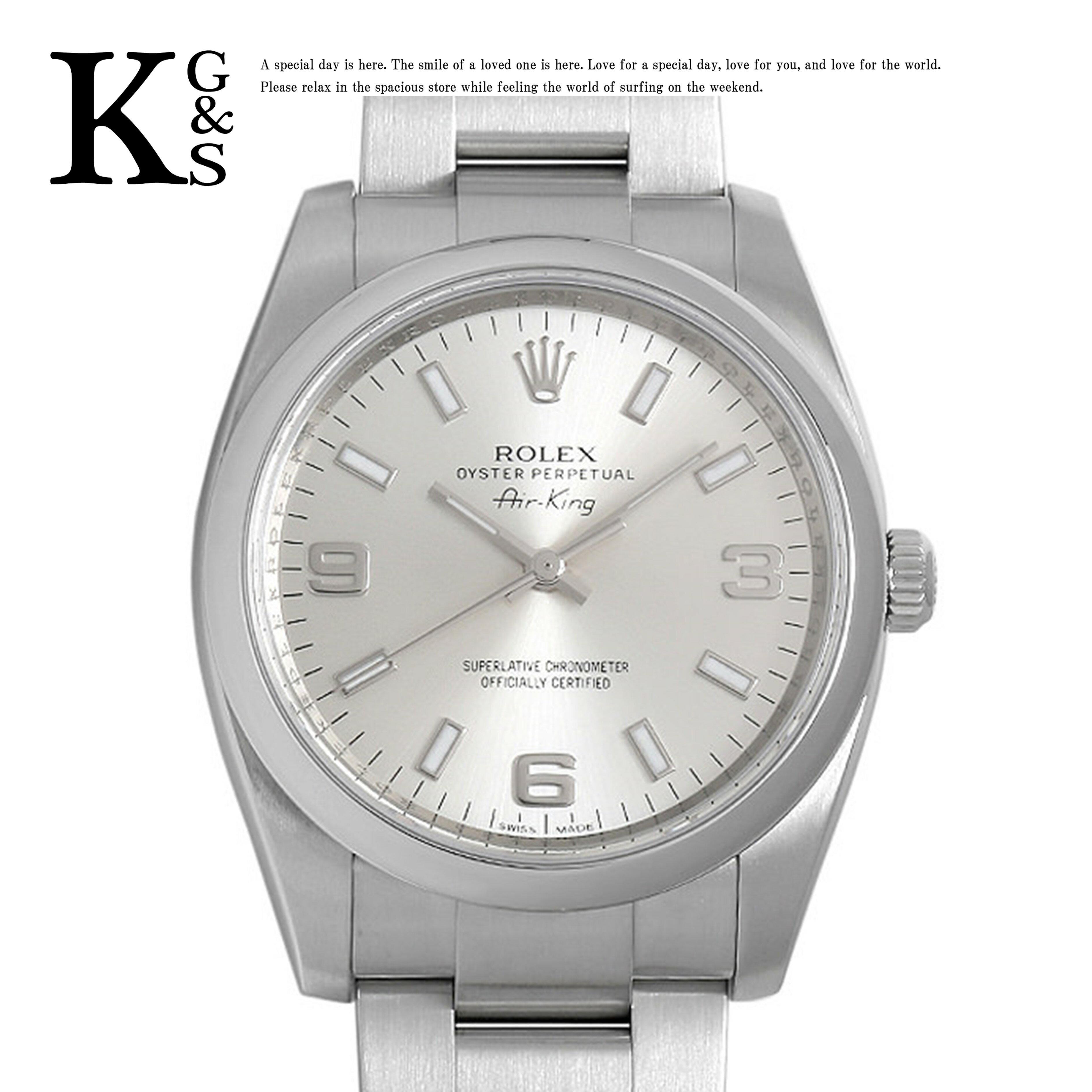 腕時計, メンズ腕時計 ROLEX 34mm 114200