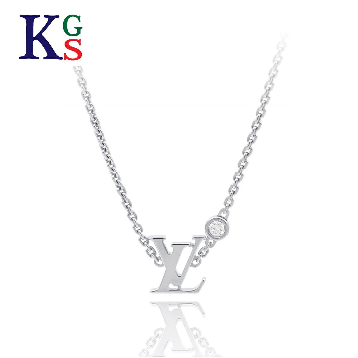 レディースジュエリー・アクセサリー, ネックレス・ペンダント Louis Vuitton 1P K18WG Q93653 1015