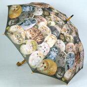 超癒し系!カワイイ女性用雨傘長〜ヘンリーキャットの雨傘が登場☆一匹一匹がカワイイです♪〜