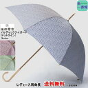 傘 レディース 雨傘 長傘 【送料無料(一部地域除く)】槙田