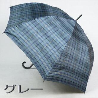 男士傘長度: 色織面料精選時尚: 瑞利 (茉莉) 跳傘 / 經理是一個傳統的檢查! 箱包配件雜物時尚飾品第一品牌,為男人 [傘頂級酒店、 新產品的小傘