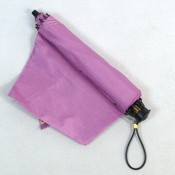 【超軽量】レディース雨晴兼用傘折〜シンプルな無地で超軽量の女性雨傘折コンパクト(2段式)ノーブランドですが上質の日本製!UVカット加工済130206_free【RCP】05P25Oct14新商品