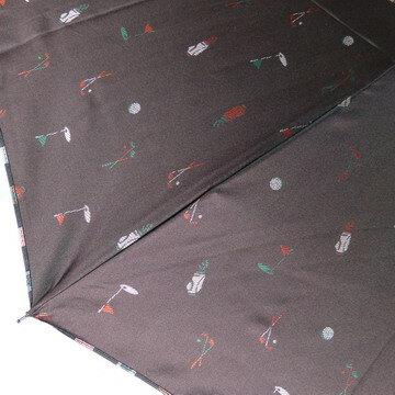 【送料無料!】メンズ雨傘折〜先染ジャガード織りゴルフ小柄&裏カラーストライプがおしゃれな男性用雨傘折りたたみ傘(2段式)ノーブランドですが高品質の日本製【RCP】【楽ギフ_包装】新商品