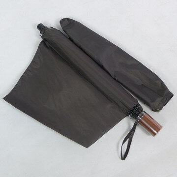 超撥水!実用性バツグンの男性用雨傘折り60cm~通勤快適☆登場☆これで雨の日も快適♪~