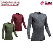 [喜多]テクニックフィットクルーネックシャツ