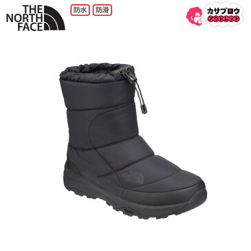 【キャッシュレスで5%還元】 [NORTH FACE] ヌプシブーティーウォータープルーフVI TNF メンズ レインブーツ ショート レインシューズ スノーブーツ 雨靴 アウトドア ハイキング人気 おしゃれ 防水仕様