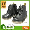 キッズ フォーマル シューズ 子供靴 ブーツ ショート ハンテン レースアップ HANG TEN HT-02955 入学式 卒業式 七五三