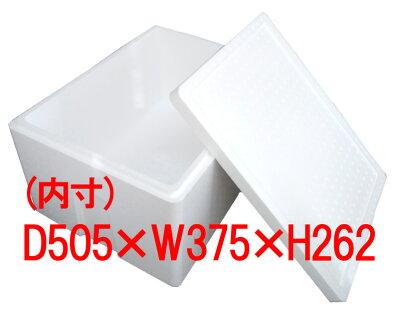 【発泡スチロール箱容器】発泡スチロールBOX(L)