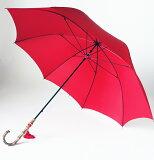 WAKAO【名入れOK】◆ワカオ スレンダーデライトNEXT センチュリーレッド(オールカーボンLL寸婦人長傘)ワカオ赤い傘軽くて大きい傘*お名前入りチャームをつけられます*(オプション/所要約7-10日)*みや竹オリジナル仕上げ*