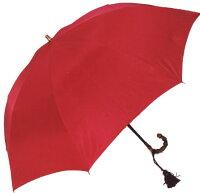 ◆ラミアセンチュリーレッド(二段式折畳傘)ワカオ「赤い傘」シリーズ