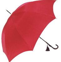◆イマージュセンチュリーレッド(スリム長傘)ワカオ「赤い傘」シリーズ