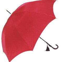 【!ご予約品!】10月下旬仕上予定◆イマージュ◆センチュリーレッド(スリム長傘) ワカオ 「赤...