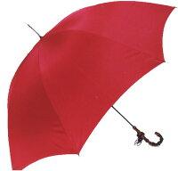 ◆スレンダーデライトセンチュリーレッド(オールカーボン長傘)ワカオ「赤い傘」シリーズ