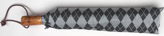 ≪二段折畳傘≫男性用日傘◆GINO(ジノ)◆男の日傘心斎橋みや竹オリジナル